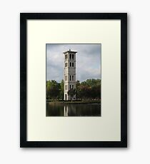 The Belltower Framed Print