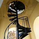 Stairs in the Belltower by Gordon Taylor