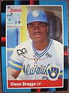 479 - Glenn Braggs by Foob's Baseball Cards