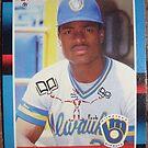 479 - Glenn Braggs by Foob's Baseball Cards