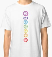 Chakras - The 7 Centers of Force Classic T-Shirt