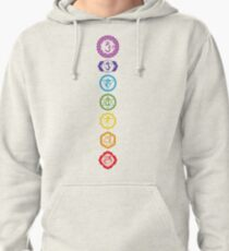 Chakras - The 7 Centers of Force Pullover Hoodie