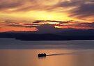 Sunset Cruise, Seattle, Washington by John Carpenter