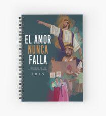 EL AMOR NUNCA FALLA (JOSIAS) SPANISCH Spiralblock