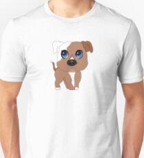 Chibi Pitbull Staffordshire Slim Fit T-Shirt