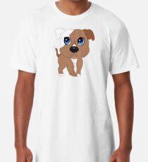 Chibi Pitbull Staffordshire Long T-Shirt