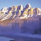 Misty Castle Mt by Graeme Wallace