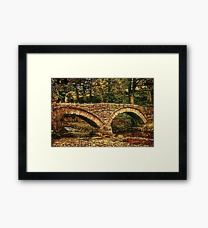 'Clapper Bridge'  Framed Print