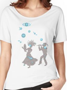 Cosmic Dance with Music of the Spheres Women's Relaxed Fit T-Shirt