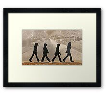 The Beatles ~ Abbey Road Framed Print