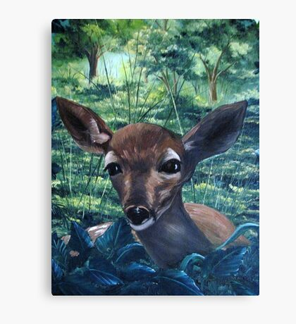 The Fawn Canvas Print