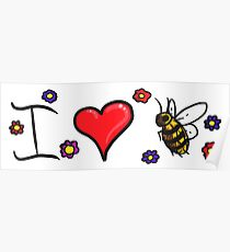 LOVE-I Love Bees Poster