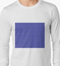 Royal Geometric Long Sleeve T-Shirt