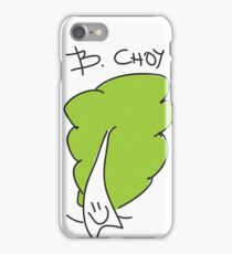 B. Choy (Bok Choy) Vegan Friendly iPhone Case/Skin