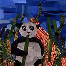 A Comfy Panda by Jennifer Frederick