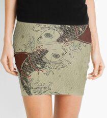 shark fin goldfish school Mini Skirt