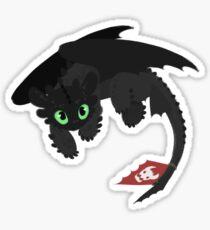 Toothless (HTTYD2) Sticker
