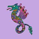 Flower Dragon by Kayleigh Walmsley