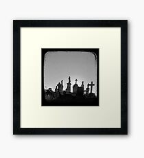 Pioneer Skyline - TTV Framed Print