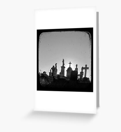 Pioneer Skyline - TTV Greeting Card