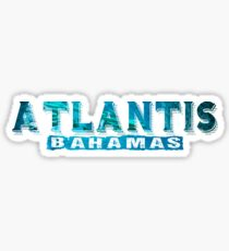 Atlantis Bahamas Sticker