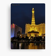 Paris of Las Vegas Canvas Print