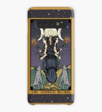 Hecate Triple Moon Goddess of Witchcraft and Magick Witch Hekate Wheel Tarot Card Case/Skin for Samsung Galaxy