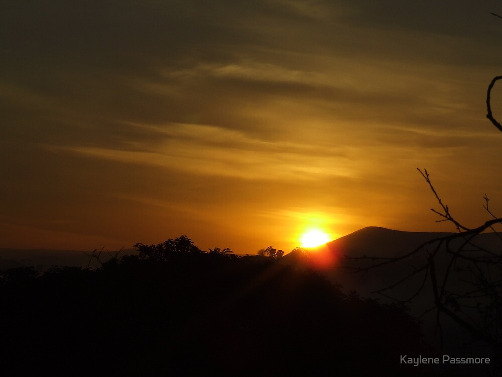 Dawn of a new day! by Kaylene Passmore
