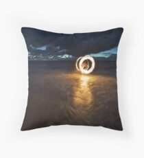 Fire & Water I Throw Pillow