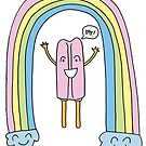 Popsicles and Rainbows by PaigeLehmannArt