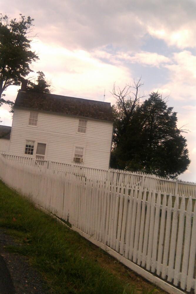 White picket fence by zamix