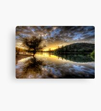 A Meal Canvas Print