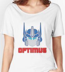 Optimus Prime Logo Women's Relaxed Fit T-Shirt