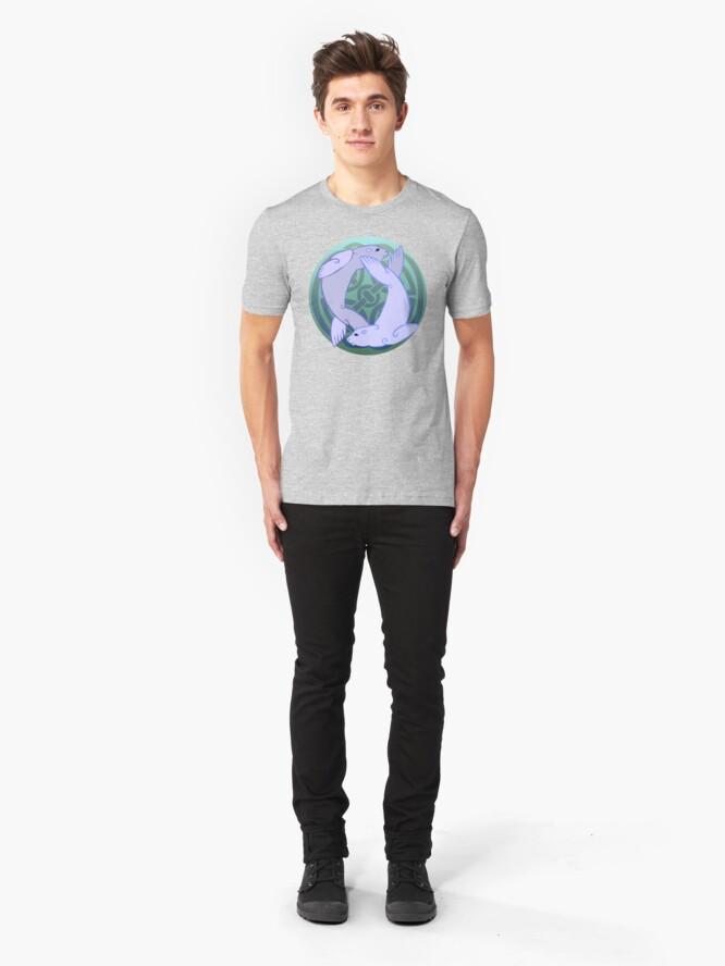 Alternate view of Morloi | Seals Slim Fit T-Shirt