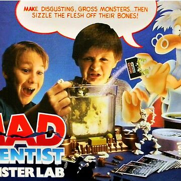 MAD SCIENTIST - MONSTER LAB  by shawnofthe80s