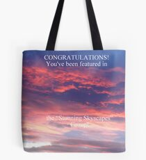 Stunning Skyscapes Banner Tote Bag