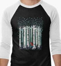 The Birches Men's Baseball ¾ T-Shirt