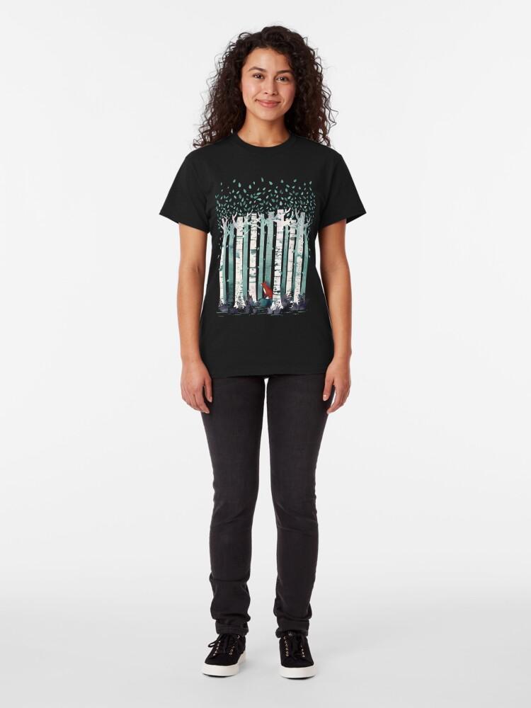 Alternative Ansicht von Die Birken Classic T-Shirt