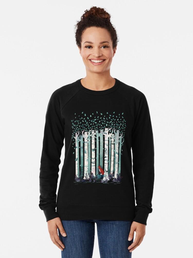 Alternate view of The Birches Lightweight Sweatshirt