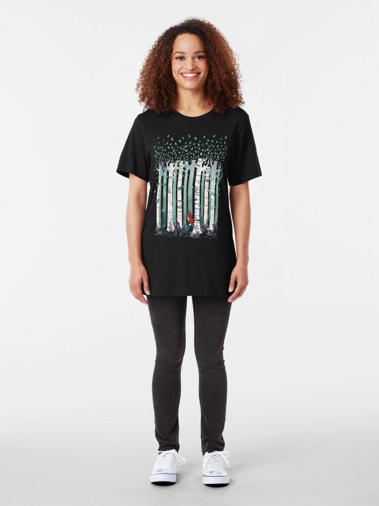 Alternative Ansicht von Die Birken Slim Fit T-Shirt