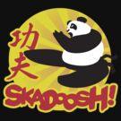 Skadoosh - I know Kung Fu by DetourShirts