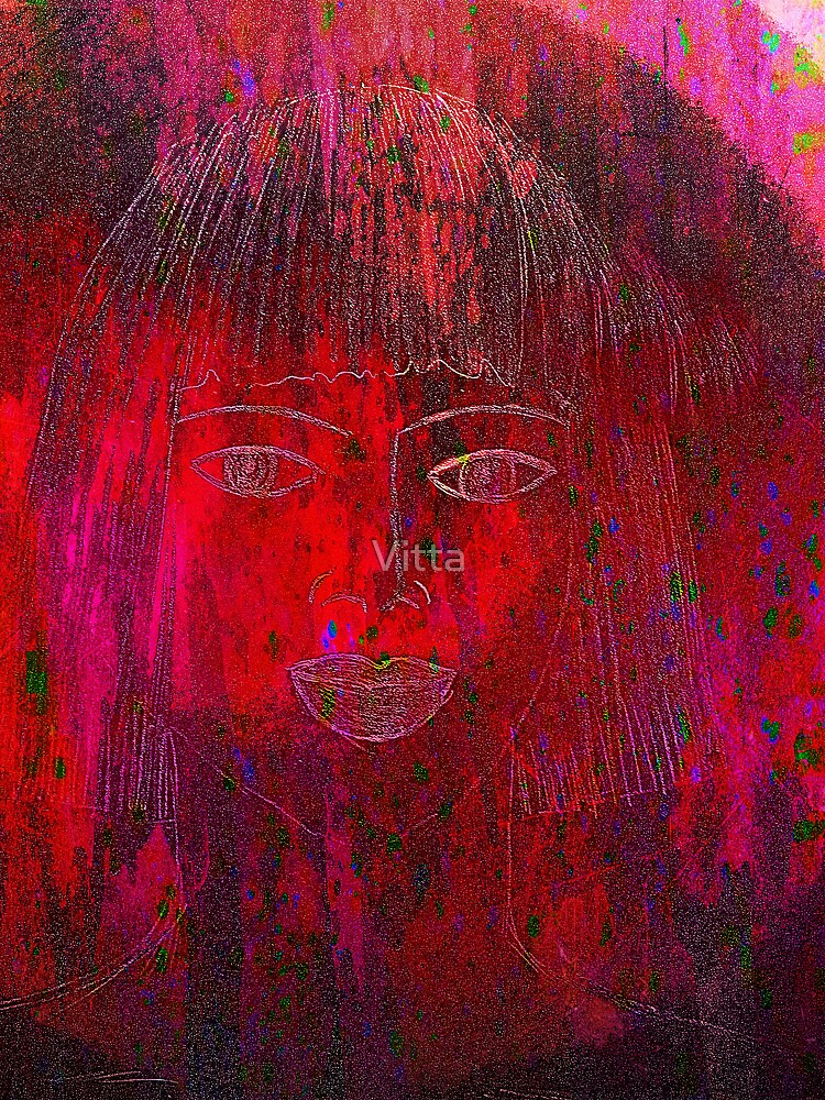 Red Portrait. by Vitta
