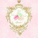 French Patisserie macarons by Wendy Paula Patterson
