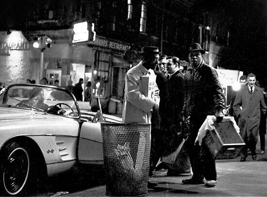 MacDougal Street 1964 by Rick Gold