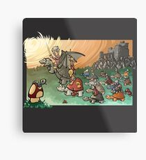 Epic battle! Metal Print