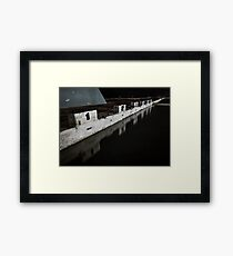 Take a Number Framed Print