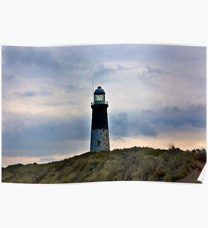 Spurn Head Lighthouse. Poster