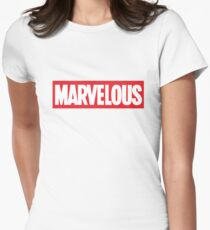 Marvelous Women's Fitted T-Shirt