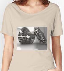 Sculpture Grey Women's Relaxed Fit T-Shirt