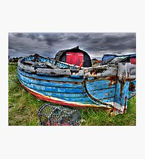 Worn Old Boat Photographic Print